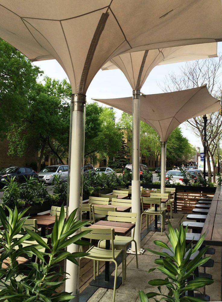 Terrasse du restaurant grinder griffintown mont al - Mobilier de terrasse design ...