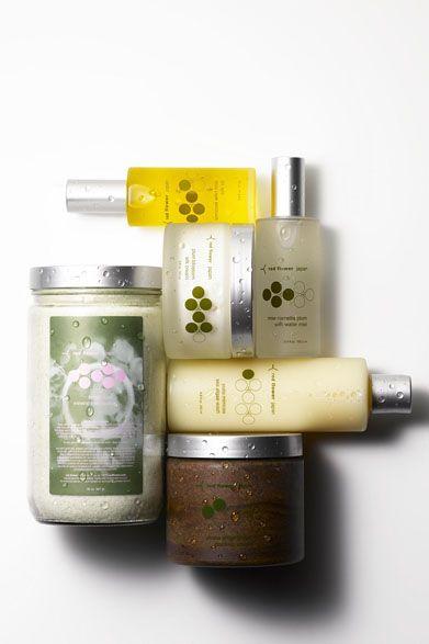 red flower|レッドフラワースキンケアコレクション「japan(ジャパン)」洗顔、化粧水、美容オイル、美容クリーム、ボディスクラブ、全身用パック、入浴剤