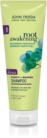Shampoo & conditioner for oily scalp & dry hair. Got a sample in the mail! I love this shampoo. -Gabrielle