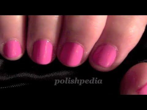 Step by Step Shellac Tutorial | Polishpedia: Nail Art | Nail Guide | Shellac Nails | Beauty Website