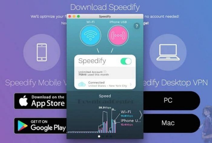 Download Speedify Powerful Vpn Forpc Mac Ios Android Windows System Android Mobile Connect
