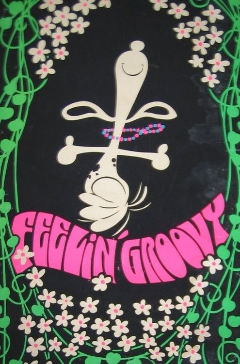 Feelin' Groovy - 1970s Snoopy.                                hello lamp post whatcha knowin , I come to watch your flowers growing