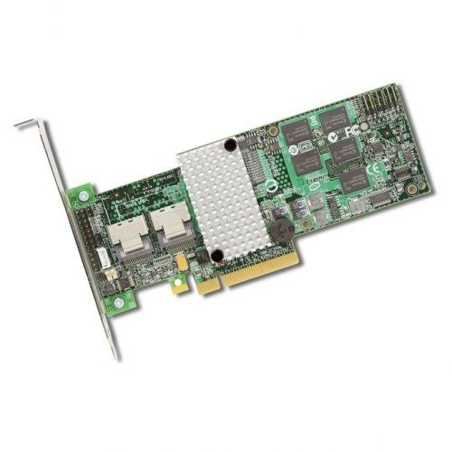 LSI Logic MegaRAID 9260-8i 8-Port SAS RAID Controller. SAS9260-8I SGL RAID 8PORT INT 6GB SAS/SATA PCIE 2.0 512MB COMB-C. 512MB DDR2 SDRAM - PCI Express x8 - 300MBps - 2 x SFF-8087 - Mini-SAS