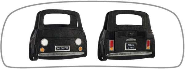 Fiat 500 Handbag #jewelry trendhunter.com