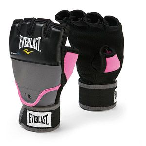 my new weighted kickboxing gloves :)