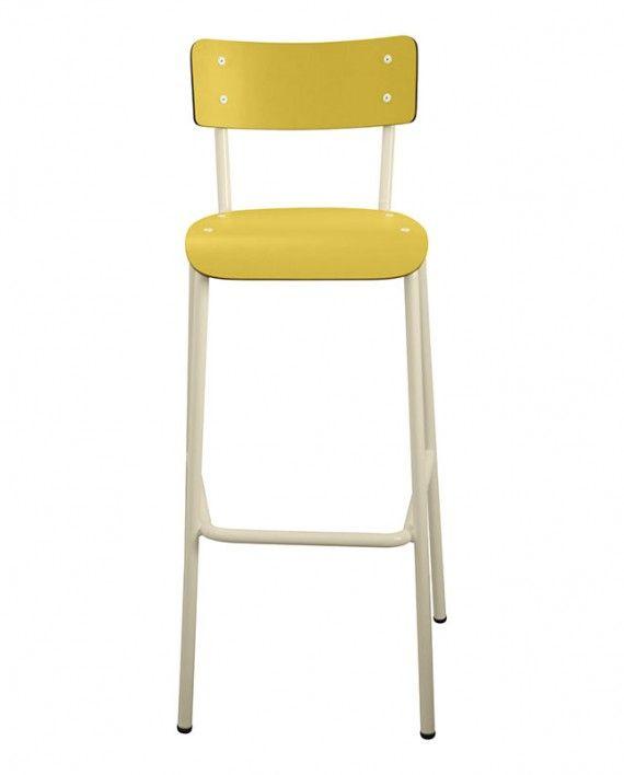 Caractéristiques La De Haute Chaise Retro Bar Chaises Formica TOikZXPu