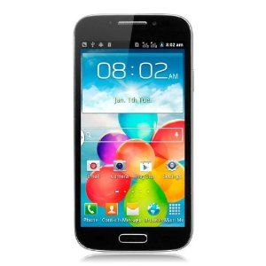 ModelGT-T9500 NetworkDual SIM Cards Dual Standby Unlocked 2G GSM 800/850/1800/1900MHz CPUModel: Spreadtrum SC6820 Type: 1.0GHz Cortex A5 GPU: Integrated Operation SystemAndroid 4.1 SIM cardDual SIM Card dual Standby RAM256MB ROM256MB Storage ExternalSupport TF Card up to 32GB Screen5inch Touch Screen Resolution:854x480Pixels, 1600K Colors CameraFront 1MP Rear 3MP with Flash Light WiFiWiFi 802.11b/g/n BluetoothBluetooth 2.1 GPSNo. FM RadioYes. Sensor3 way G-sensor Ports