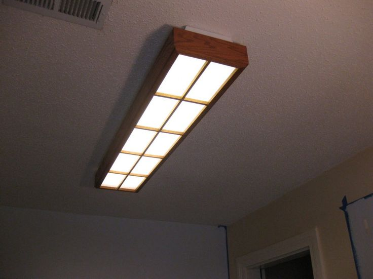 How To Make Decorative Fluorescent Light Covers Diy