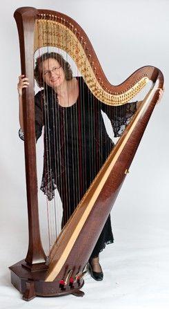 Anita Burroughs Price, Principal Harp of the North Carolina Symphony