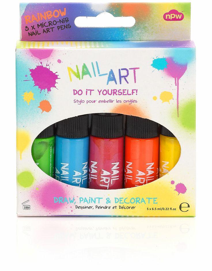 Nail Art Brights 5 Pack