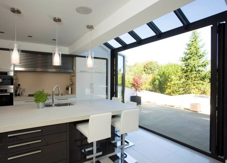 this is what I wouls love on the back of our house!! Kitchen Extensions | Apropos Conservatories