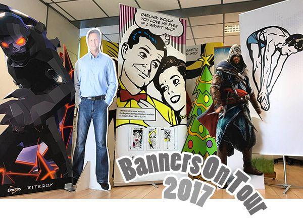 Banners On Tour 2017 - Wij zijn On Tour met onze presentatiesystemen!  http://blog.pimprint.nl/we-komen-langs-met-onze-banners/