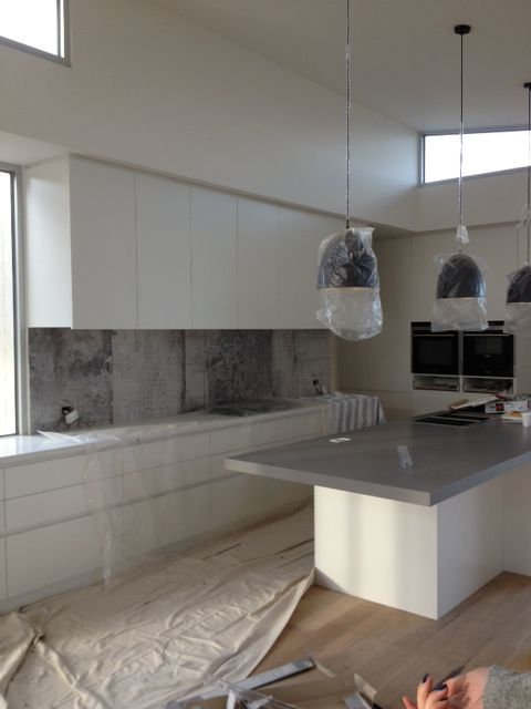 TORQUAY Residence: Stunning Home. Kitchen splashback tile supplied by The Tile People Geelong