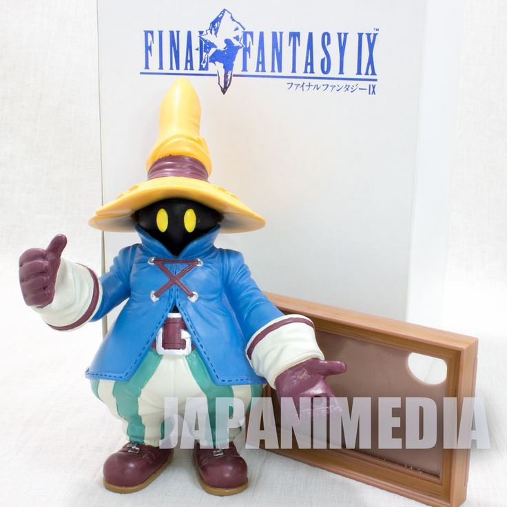 RARE! Final Fantasy IX 9 VIVI Polystone Figure Multi Frame Square JAPAN GAME