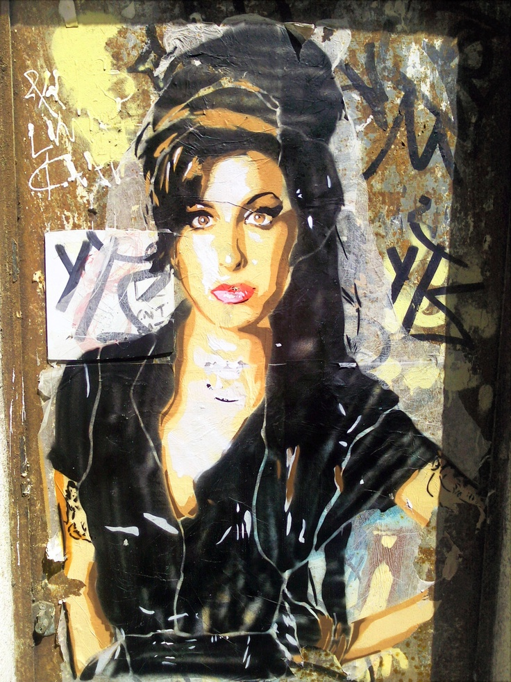 Amy Winehouse streetart