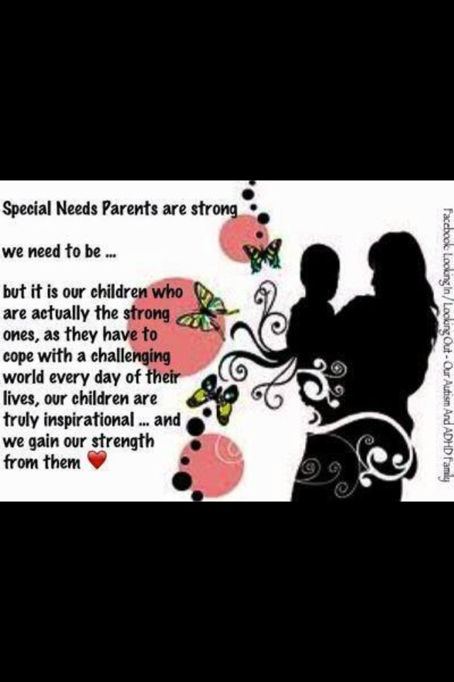 quotes for special needs parents quotesgram