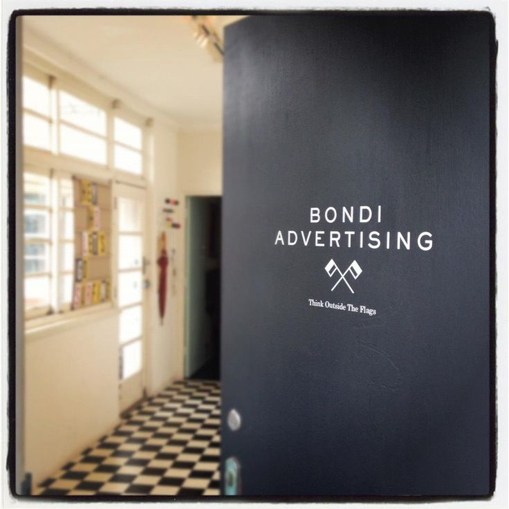 Welcome to the #office #advertising #bondiadvertising