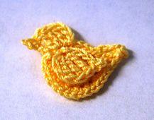 Ravelry: Free Bird Applique pattern by Jessica Zeltner