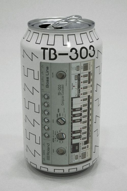 TB303 cool can #packaging PD