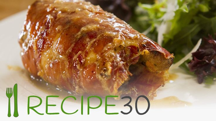 Chicken thigh filled with Greek & Italian flavors wrapped in prosciutto ...