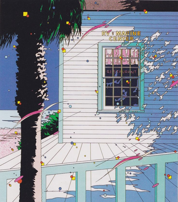 Eizin Suzuki (1985) #art #illustration #80s-My collection of Worlds • Concept Art// ✤世界 || #Ilustraciones #Animación #Exteriores #PostCards #Galaxias #Universos #LiberalArt  https://es.pinterest.com/kunstler9/worlds-/