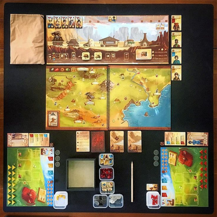 """Bock's Games on Instagram: """"Near and Far by @redravengames. Playing through the first campaign (done with tutorial map) today. So excited! We love this game so far!…"""""""