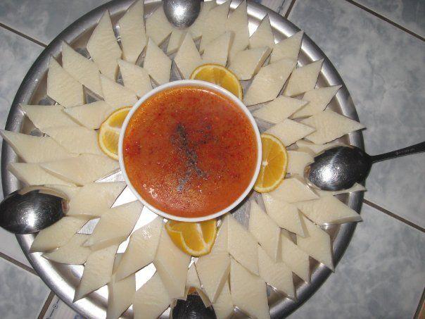 arabaşı soup ( yozgat / Turkey )