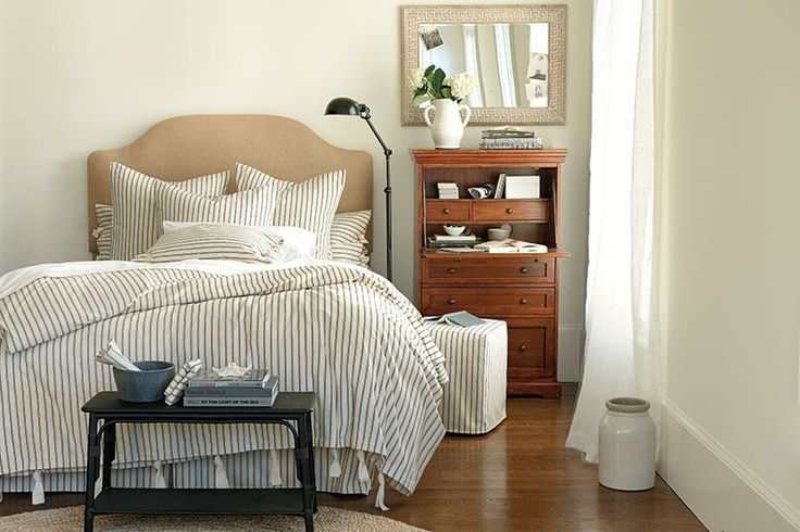 with Stripes | Ticking stripe, Decorating and Bedrooms