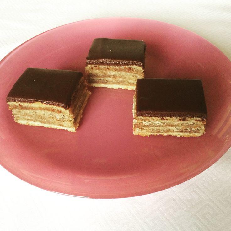 Gerbeaud layer cake