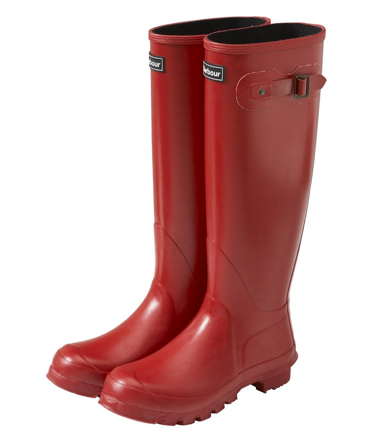 Barbour wellies! I love my Hunters but maybe I should have these to match my jacket.