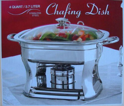Kirkland 4-quart Stainless Steel Chafing Dish Buffet Chafer