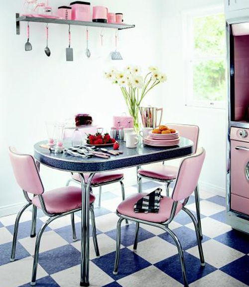 Decoration For Kitchen Table: Fall Back In Love With These Retro Kitchen Decorating Ideas