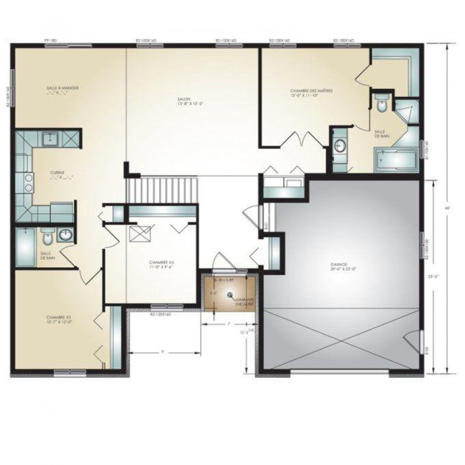 Modèle Classique | Maison modulaire, Constructeur maison, Plan maison