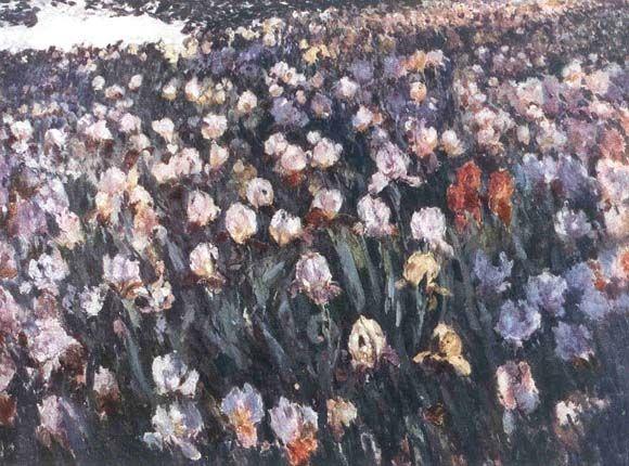 ANTONÍN SLAVÍČEK (1870-1910) Iris, 1907