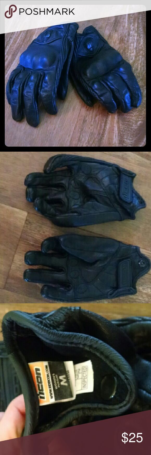Motorcycle gloves victoria bc - Icon Pursuit Women S Leather Motorcycle Gloves