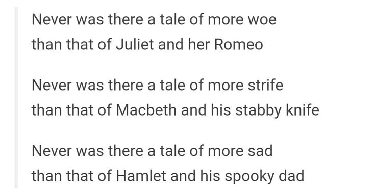 18 Jokes You'll Only Get If You've Read Shakespeare