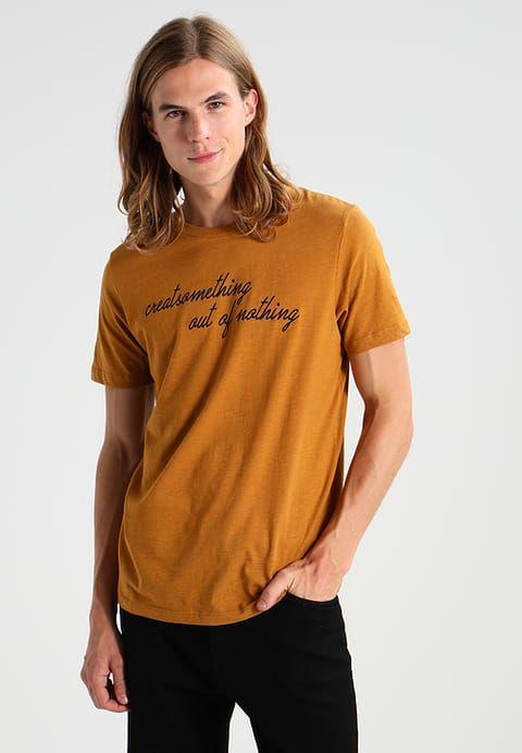 Produkt T-Shirt print - golden brown - Zalando.de