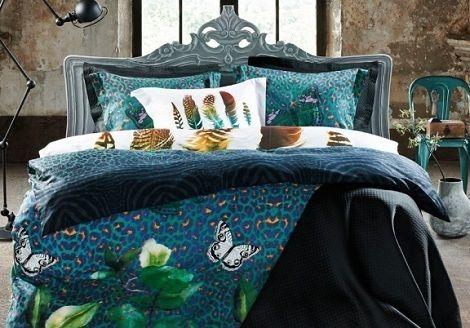 van dyck bohemian butterfly dekbedovertrek, sfeervolle slaapkamer , luxe dekbedovertrekken , dealer theo bot slaapkenner matras