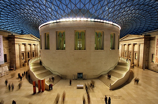 british museum...i was here and is amazing...i love all egypt collection and some south america (indians) exhibitions