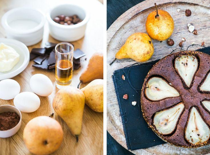 Kitchen story | ČOKOLÁDOVÝ KOLÁČ S HRUŠKAMI (bez mouky)…