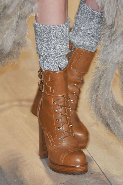 Thick boot socks from Michael Kors - Sock Situation