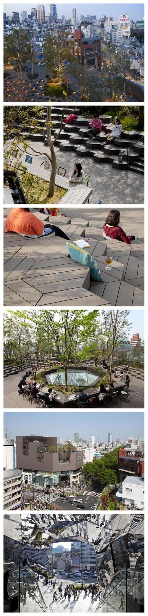 Hiroshi Nakamura, Tokyo Plaza Omotesando Project. Click image for link to full profile and visit the slowottawa.ca boards >> https://www.pinterest.com/slowottawa/