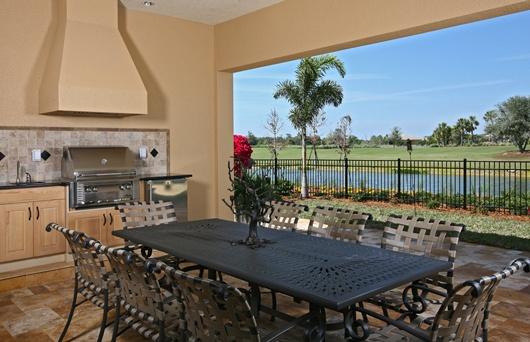 Backyard Remodel Bay Area :  by London Bay Homes with interior design by @Romanza Interior Design