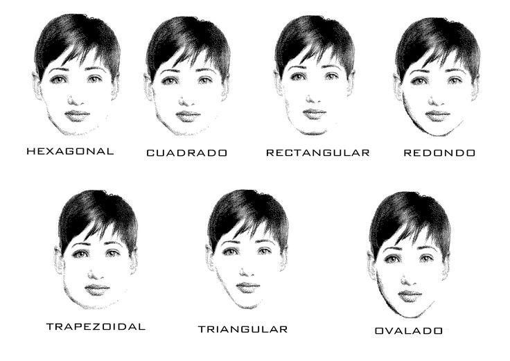 formas de rostros de mujeres - Buscar con Google