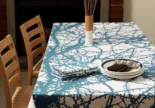 Good Sources for Modern Tablecloths —  Shopping Guide