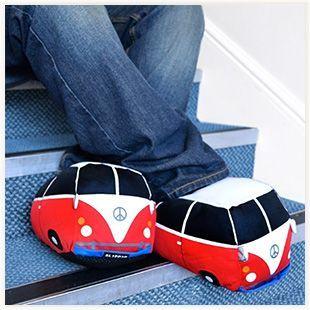 Chaussons Combi VW #combiVW #van #chaussons