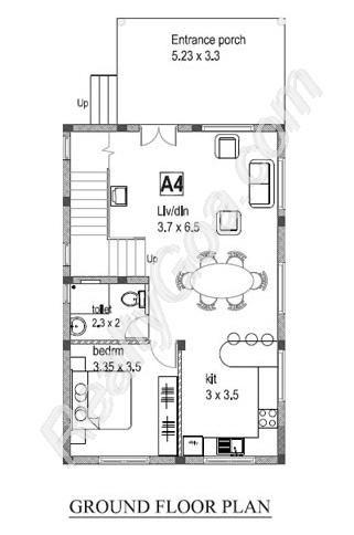 Goa Property Luxurious 3BR Row Villa Residential for Sale in Kadamba Plateau - North - Goa