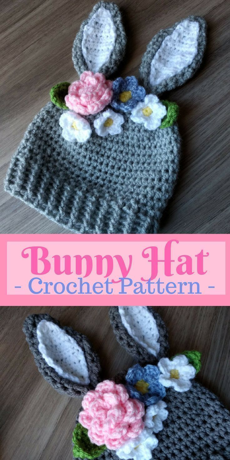30+ Amazing Image of Toddler Crochet Hat Pattern With Flower