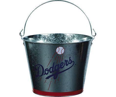 Los Angeles Dodgers 5qt Metal Pail - MLB Teams - Sports Theme Party - Theme Parties - Categories - Party City
