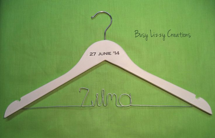 Wedding / Bridal hanger... many styles available, visit website